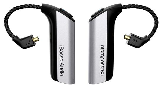 iBasso CF01 Récepteur Bluetooth 5.0 pour écouteurs MMCX QCC3020 aptX