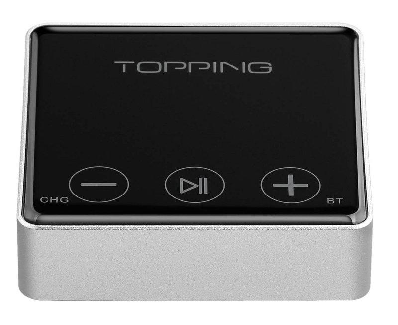 Topping Bc3 Audio Reveicer Bluetooth 5 0 Aptx Hd Ldac Dac Es9018q2c 24bit 96khz Silver Audiophonics