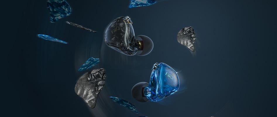 Fiio FD1 Écouteurs Intra-Auriculaires IEM Haut-Parleurs Dynamique Plaqués Beryllium