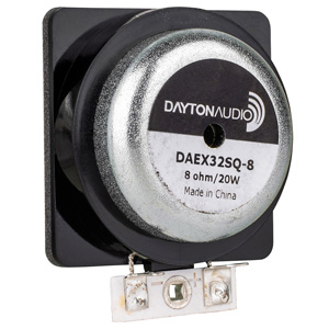 Dayton Audio DAEX32SQ-8 Vibreur Exciter 20W 8Ω Ø32mm