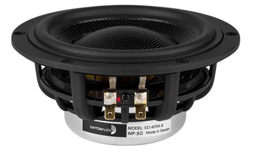 Dayton Audio ES140TiA-8 Haut-Parleur de Grave 100W 8 Ohm 84dB 45Hz - 4100Hz Ø14cm