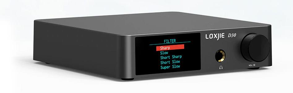 Loxjie D30 DAC Amplificateur Casque AK4493EQ XMOS 32bit 768kHz DSD512
