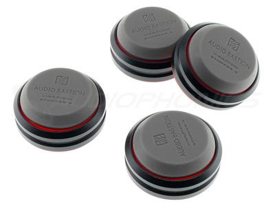 Audio Bastion Redline Damper Absorbeurs de Vibrations Aluminium / Silicone
