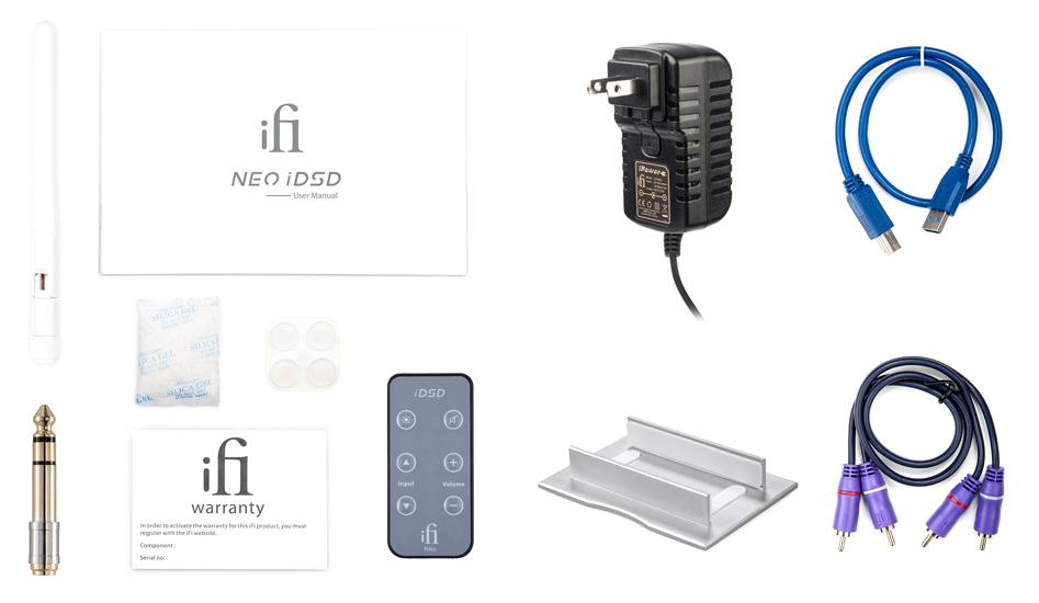 iFi Audio Neo iDSD DAC Amplificateur Bluetooth 5.0 MQA XMOS Symétrique 32bit 768kHz DSD512