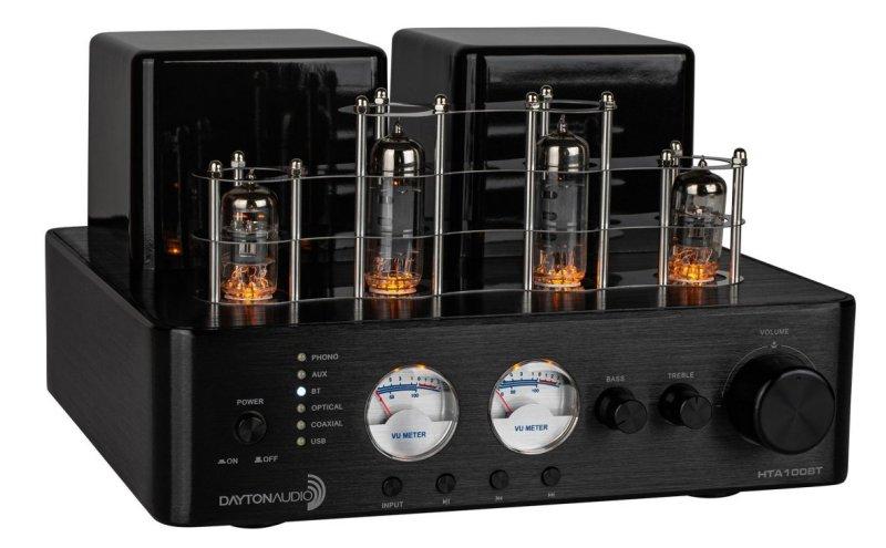 Dayton Audio HTA100BT amplificateur tube entrée phono