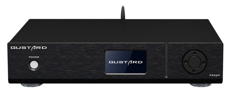 Gustard X26Pro DAC Symétrique 2x ES9038Pro XMOS Bluetooth 5.0 MQA 32Bit 768kHz DSD512 Noir