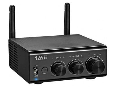 1Mii B08s Amplificateur 2.1 Class D Bluetooth 5.0 aptX HD QCC3034 2x100W