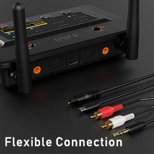 1Mii B03pro Récepteur Émetteur Bluetooth 5.0 aptX HD CSR8675 ES9018