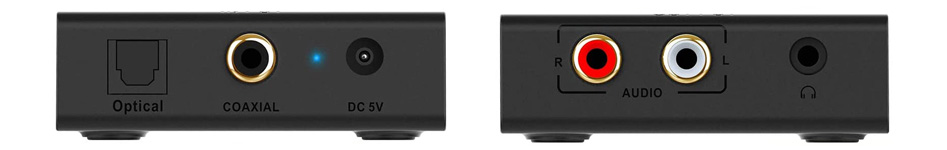 1MII RT909 DAC Coaxial Optique Toslink 24bit 192kHz