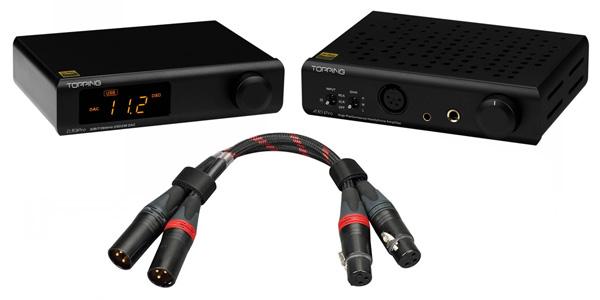 Pack Topping D30 Pro DAC CS43198 + A30 Pro Amplificateur Casque NFCA + TCX1 Câble XLR