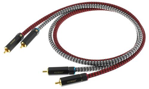 Câbles RCA Cuivre OFC Plaqué Or Canare L-4E6S 1m (La paire)