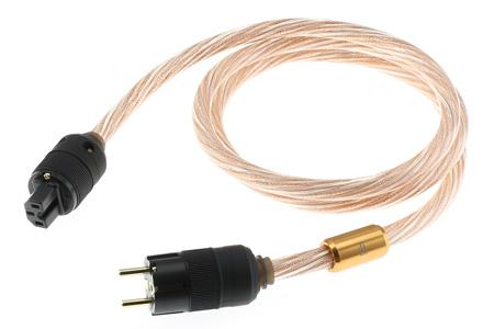 iFi Audio Nova Câble secteur Cuivre OFHC plaqué Or blindé 1.8m