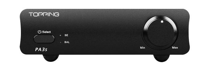 TOPPING PA3S Amplificateur Class D Symétrique 2x MA12070 2x65W 4 Ohm Noir