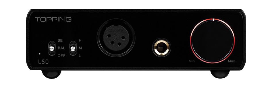 Topping L50 Amplificateur casque symétrique préamplificateur NFCA Noir