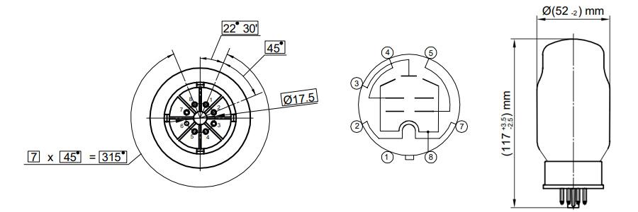 Genalex Gold Lion KT88 Tubes Tetrodes (Set x4 appairés)