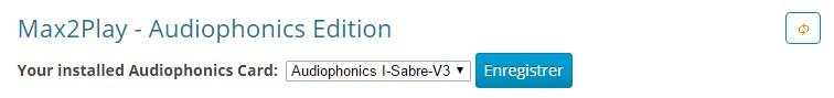 Max2Play Audiophonics I-SABRE V3