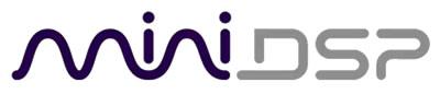 MiniDSP logo officiel - Processeur audio numérique