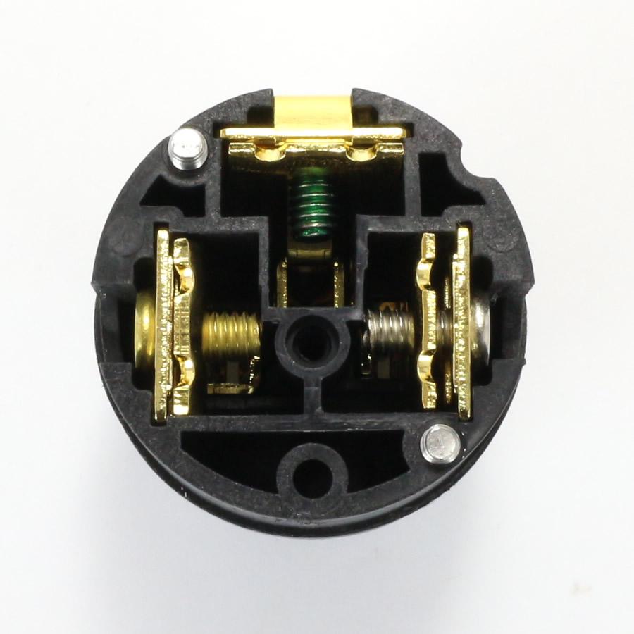 ELECAUDIO PI-26GC Prise Secteur IEC Carbone Or 24K
