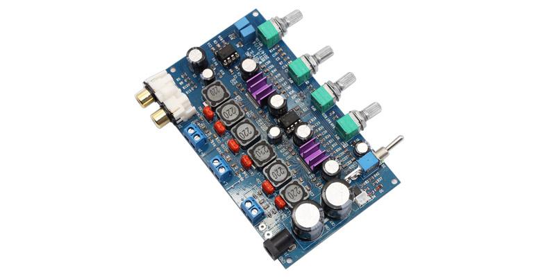 FX-Audio M-DIY-2.1 Module Amplificateur 2.1 Class D 2x TPA3116D2 2x50W + 100W