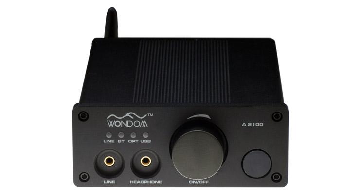 amplificateur class d 2x100w wondom a2100