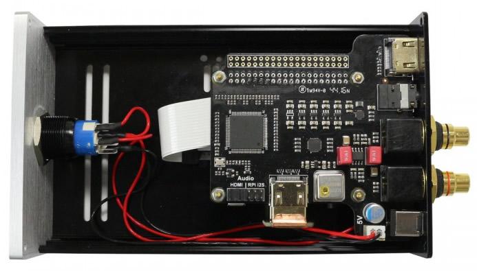 boitier st4000 raspberry pi 3