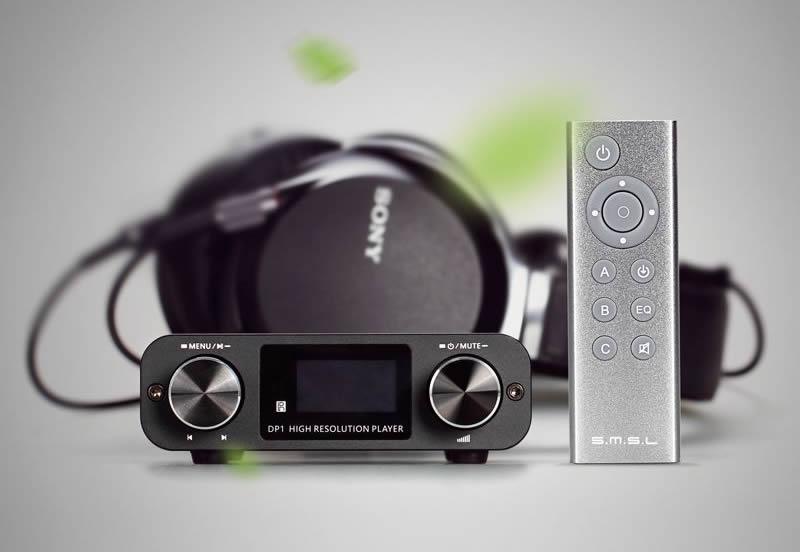SMSL DP1 Headphone amplifier digital player