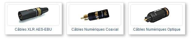 Câble numérique - XLR / RJ45 / HDMI