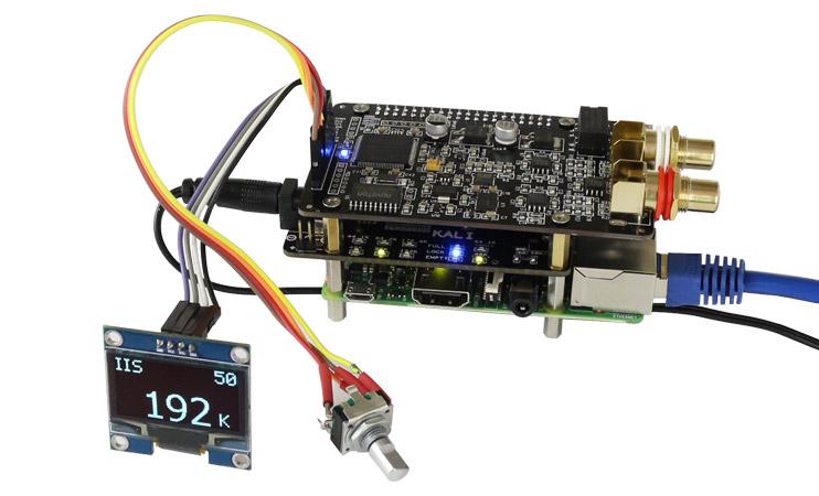 Montage encodeur rotatif ES9028