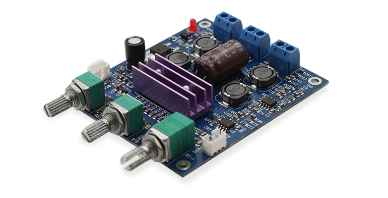 FX-Audio Amplifier TPA3116 + 2x NE5532