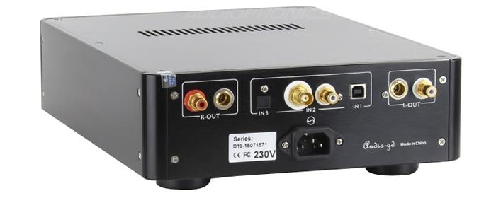 Arrière Audio-GD DAC-19