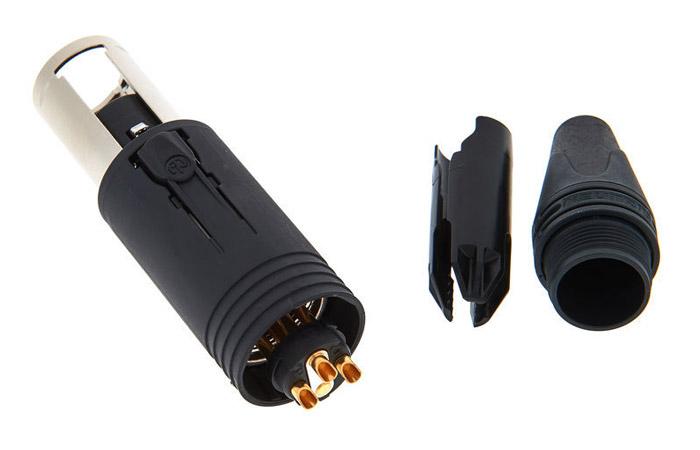 Neutrik NC3FM-C Connecteur XLR Unisexe