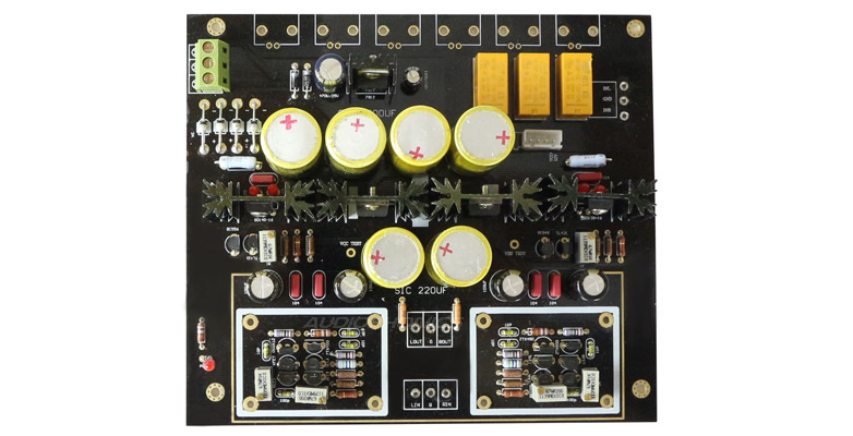 Preamplifier module and source selector