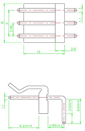 XHP 3.96mm